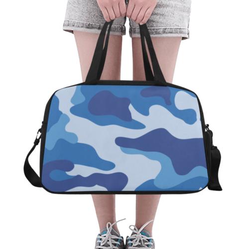 sky camo Fitness Handbag