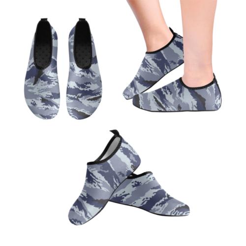 Russian omon kamysh metro camouflage Men's Slip-On Water Shoes