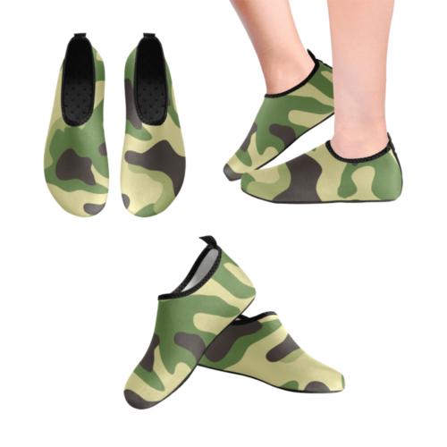 higland camo Men's Slip-On Water Shoes