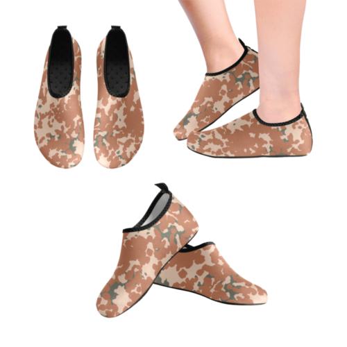 Danish M84 Desert camouflage Men's Slip-On Water Shoes