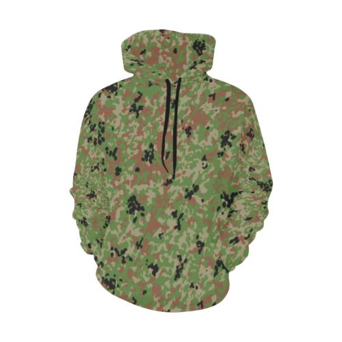 Japanese 1991 jietai camouflage Hoodie