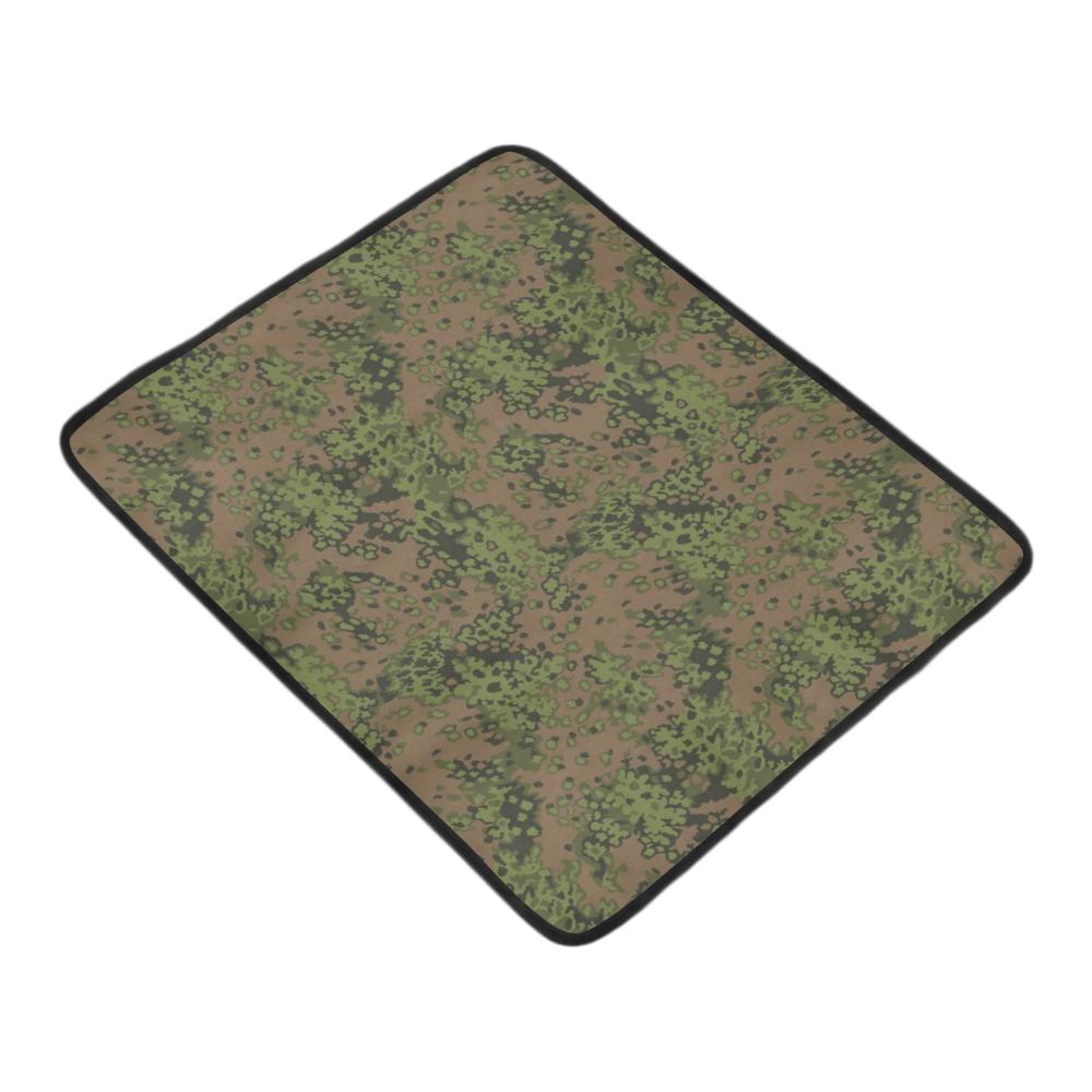 "Germany WWII Eichenlaub Spring camouflage Beach Mat 78""x 60"""