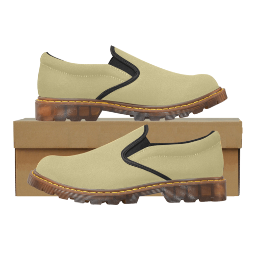 Plain Sand Martin Men's Slip-On Loafer