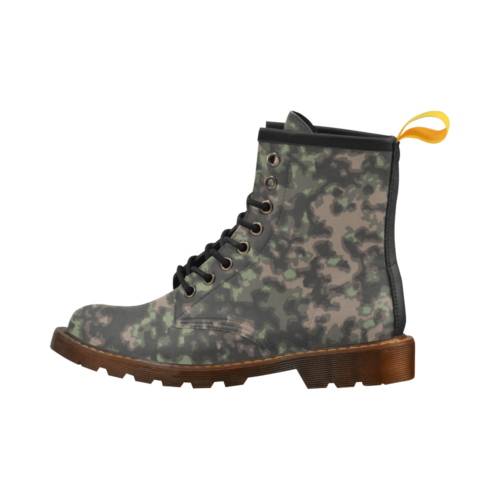 rauchtarn spring camouflage High Grade PU Leather Martin Boots For Men