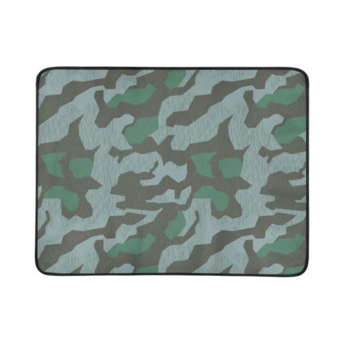 "Germany WWII Splittermuster 41 Luft camouflage Beach Mat 78""x 60"""