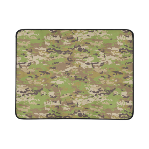 "Australian AMP camouflage Beach Mat 78""x 60"""