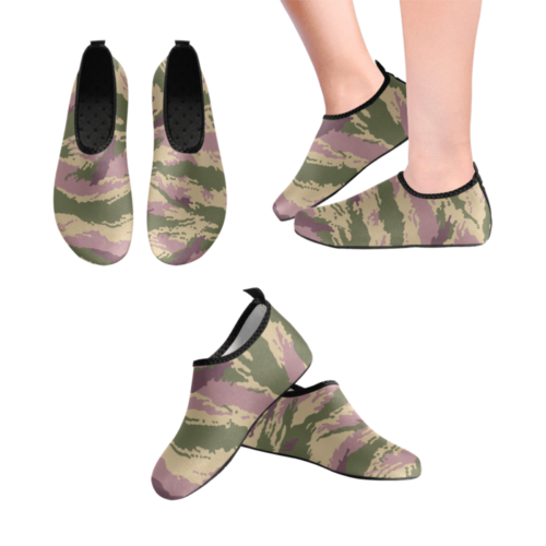 Russian kamysh PFO camouflage Men's Slip-On Water Shoes