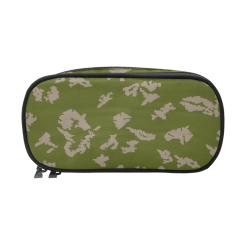 russian KLMK Berehzka green pink leaf Pencil Pouch/Large