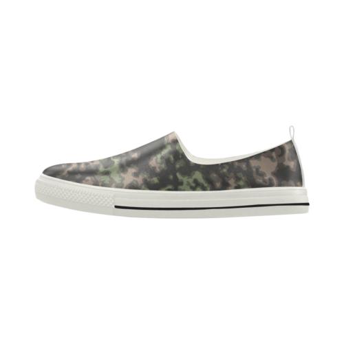 rauchtarn spring camouflage Apus Slip-on Microfiber Men's Shoes
