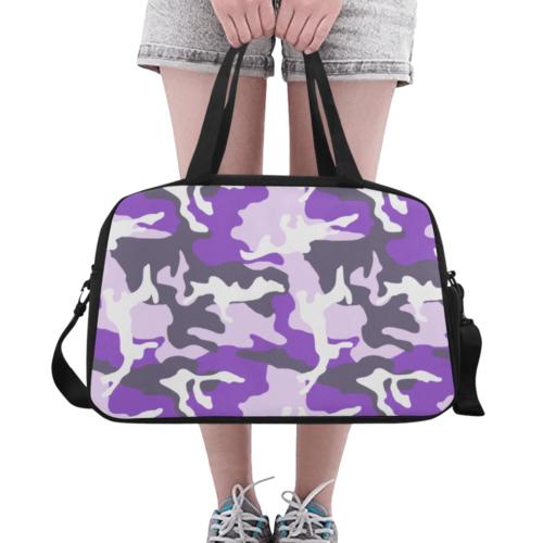 ERDL ultraviolet Fitness Handbag