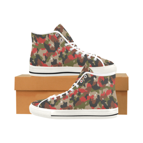 alpenflage Camoverse hi-top  Men's Canvas Shoes