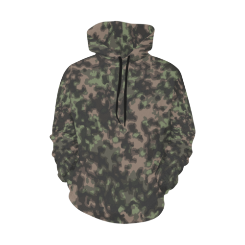 WWII Rauchtarn Spring Camouflage Hoodie for Men