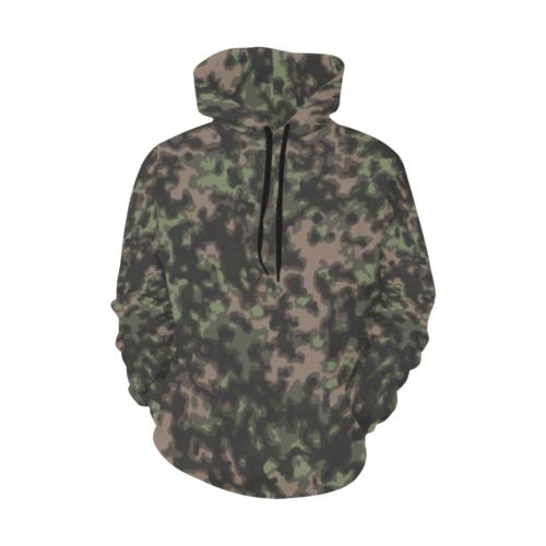 WWII Rauchtarn Spring Camouflage Hoodie for Men