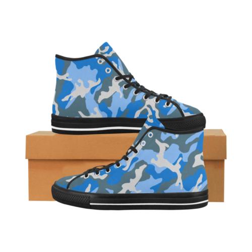 ERDL navy Camoverse hi-top  Men's Canvas Shoes