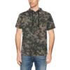 WWII Rauchtarn Spring Camouflage Short Sleeve Hoodie for Men