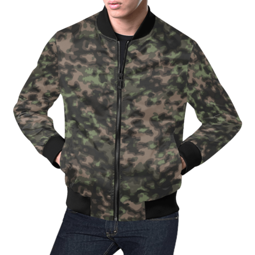 WWII Rauchtarn Spring Camouflage Bomber Jacket for Men
