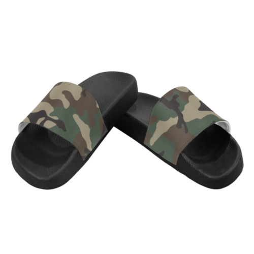 ERDL woodland Men's Slide Sandals