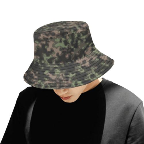 rauchtarn spring camouflage Bucket Hat for Men