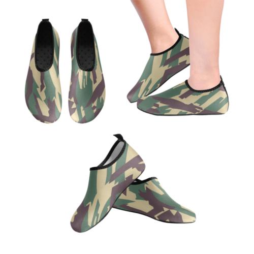 russian Kamyshovy risunok underbrush camouflage Men's Slip-On Water Shoes