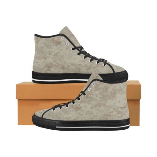marpat desert Camoverse hi-top  Men's Canvas Shoes