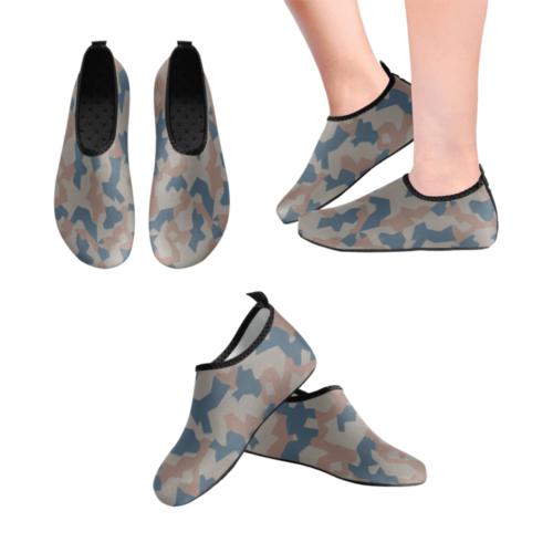 Bulgarian 1946 Splinter camouflage Men's Slip-On Water Shoes