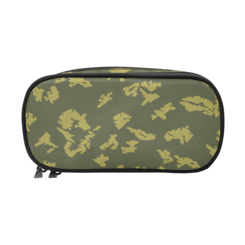russian KLMK Berehzka green yellow leaf Pencil Pouch/Large