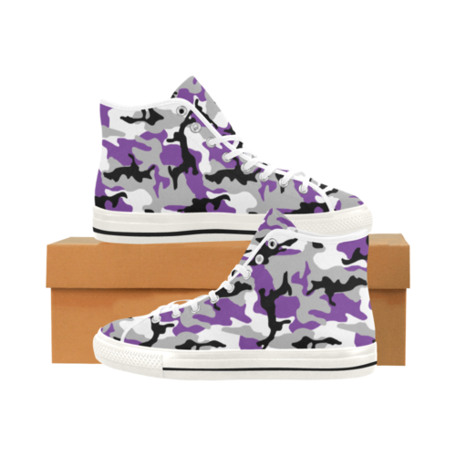 MC ultraviolet Camoverse hi-top  Men's Canvas Shoes