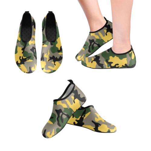 MC yellow stinger Men's Slip-On Water Shoes