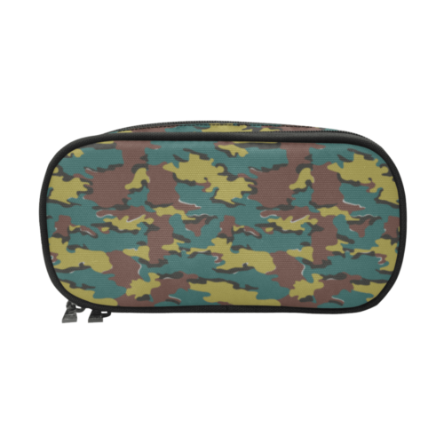 Belgian Jigsaw camouflage Pencil Pouch/Large