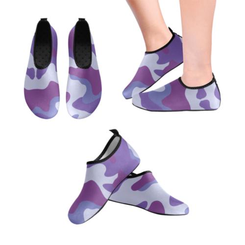purple Men's Slip-On Water Shoes