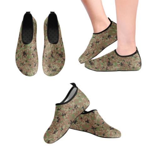Japanese 1991 jietai winter Camouflage Men's Slip-On Water Shoes