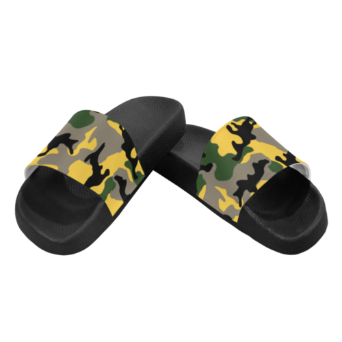 MC yellow stinger Men's Slide Sandals