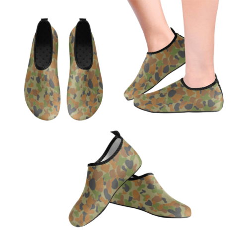 AUSCAM Bunnycam DCP camouflage Men's Slip-On Water Shoes