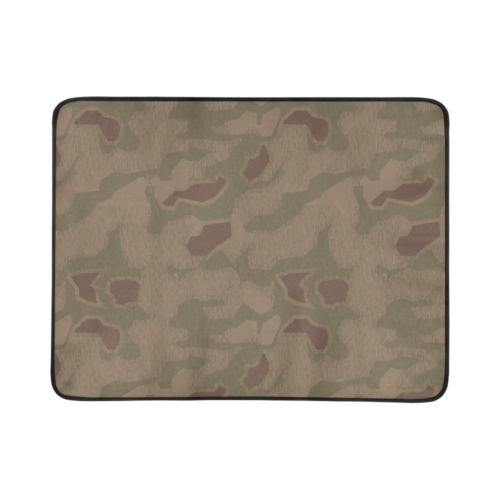 "Germany WWII Sumpfmuster 43 camouflage Beach Mat 78""x 60"""