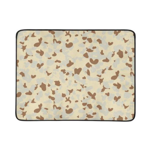 """Desert AUSCAM MKI camouflage Beach Mat 78""""x 60"""""""
