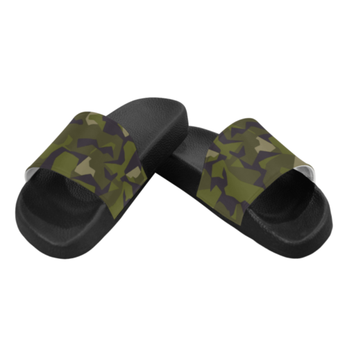 Sweden M90 woodland Men's Slide Sandals