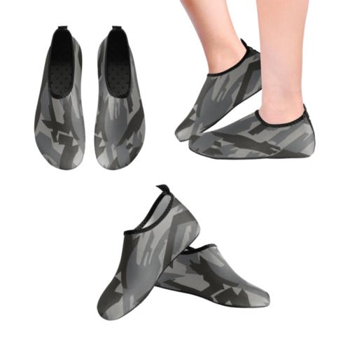 russian Kamyshovy risunok SKOLM camouflage Men's Slip-On Water Shoes