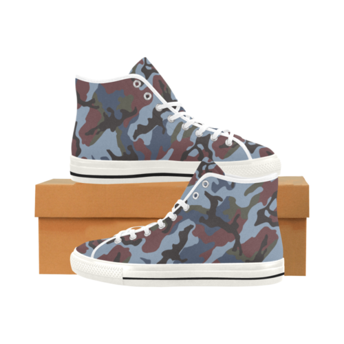 ERDL streetfighter Camoverse hi-top  Men's Canvas Shoes