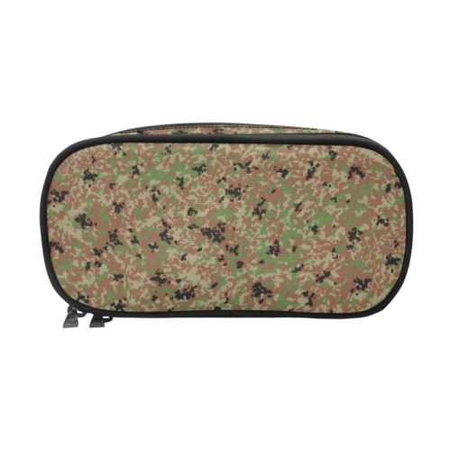 Japanese 1991 jietai winter Camouflage Pencil Pouch/Large