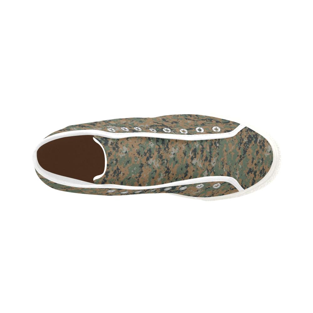 Marpat woodland Camoverse hi-top  Men's Canvas Shoes