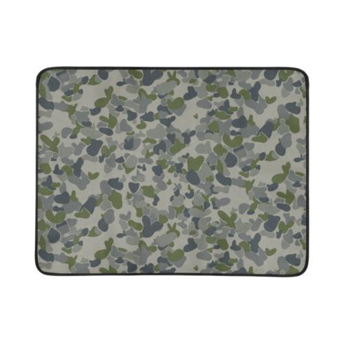 "AUSCAM RAN DPNU camouflage Beach Mat 78""x 60"""