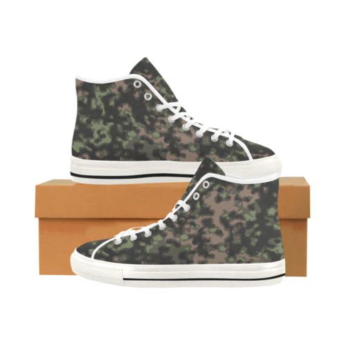 rauchtarn spring camouflage Camoverse Men's Canvas Shoes