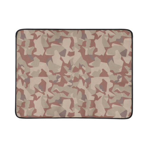 "Swedish M90 Desert camouflage Beach Mat 78""x 60"""
