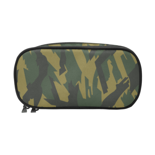 russian Kamyshovy risunok Brown camouflage Pencil Pouch/Large