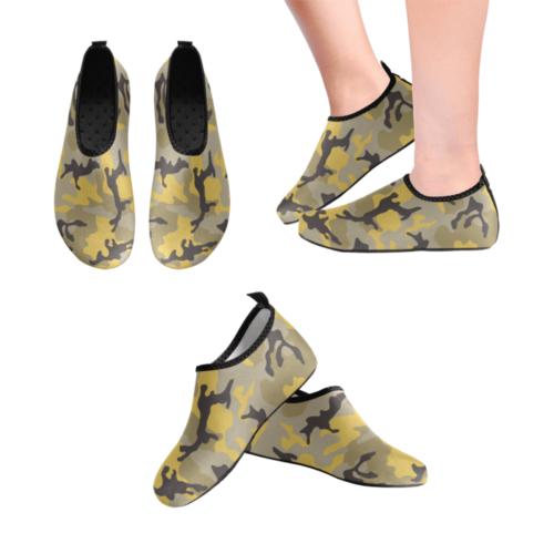 ERDL yellow stinger Men's Slip-On Water Shoes