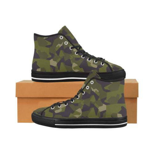 Sweden M90 Camoverse hi-top  Men's Canvas Shoes
