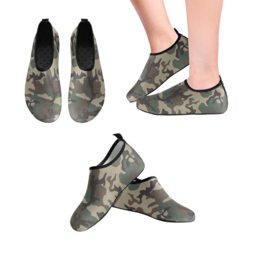ERDL woodland Men's Slip-On Water Shoes