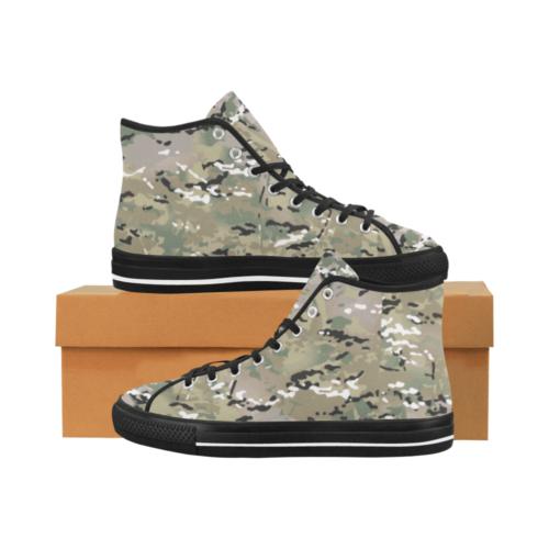 multicamo Camoverse hi-top  Men's Canvas Shoes