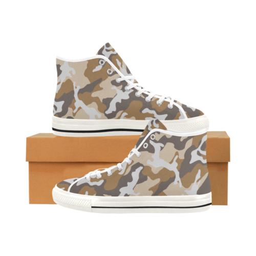 ERDL USMC Camoverse hi-top  Men's Canvas Shoes