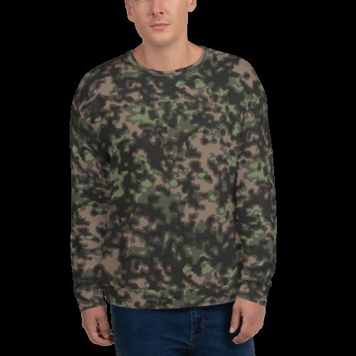 German WWII Rauchtarn spring Camouflage Unisex Sweatshirt
